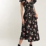 Rebecca Taylor Ikat Floral-Print Cotton Dress