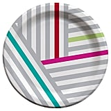 Target Cheeky Grey Stripes Snack Plates