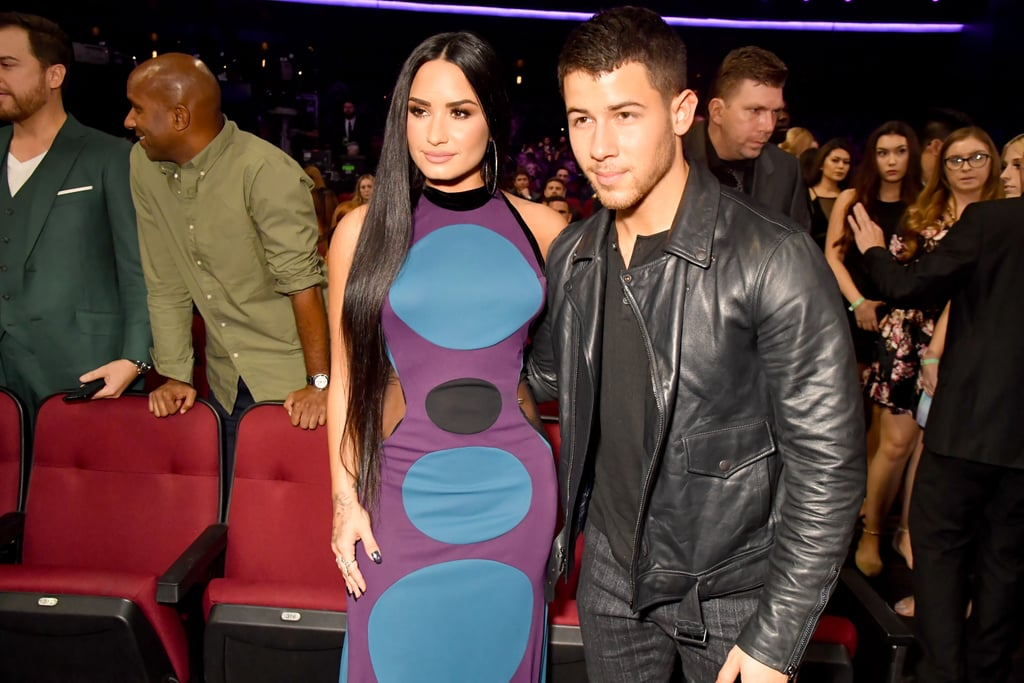 Pictured: Demi Lovato and Nick Jonas