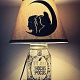 Hocus Pocus-Inspired Mason Jar Character Lamp