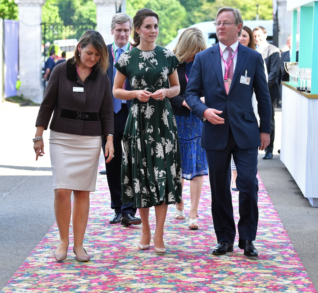 Kate Attended a Flower Show Press Day Event