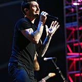 Adam Levine performed at the Grammy Nominations show in Nashville.