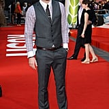 Liam Hemsworth attended the premiere as well, in support of his brother Chris.
