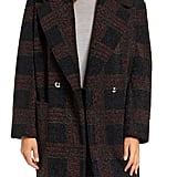 Sosken Glen Plaid Berber Coat