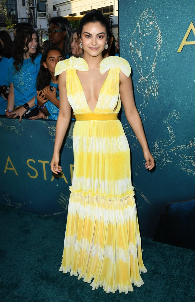 Camila Mendes at the Premiere of The Sun Is Also a Star in 2019