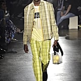 Yellow Plaid Is Even Making Appearances on Menswear Runways, Like This Kenzo Spring/Summer 2019 Look