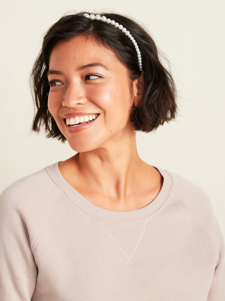 Old Navy Faux-Pearl Headbands 2-Pack
