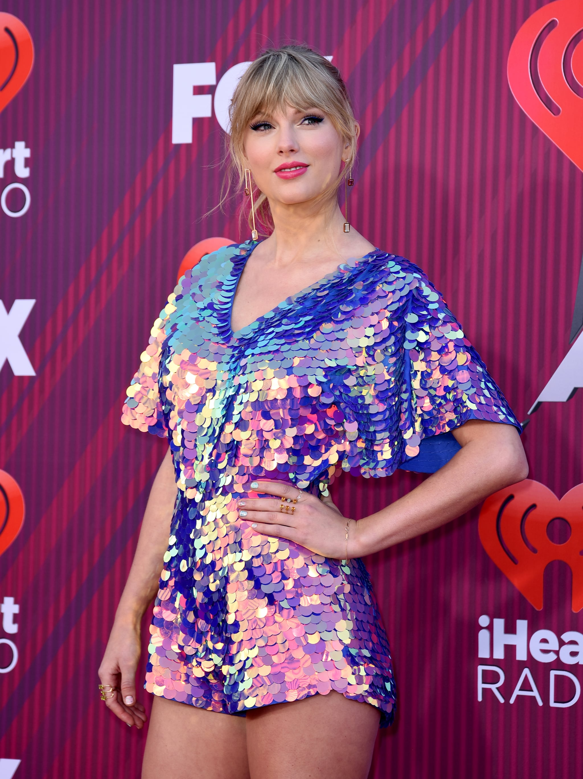 LOS ANGELES, CALIFORNIA - MARCH 14: Taylor Swift attends the 2019 iHeartRadio Music Awards which broadcasted live on FOX at Microsoft Theatre on March 14, 2019 in Los Angeles, California. (Photo by Presley Ann/WireImage)