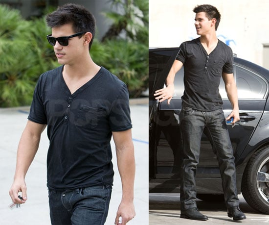 Photos of Taylor Lautner Out to Lunch