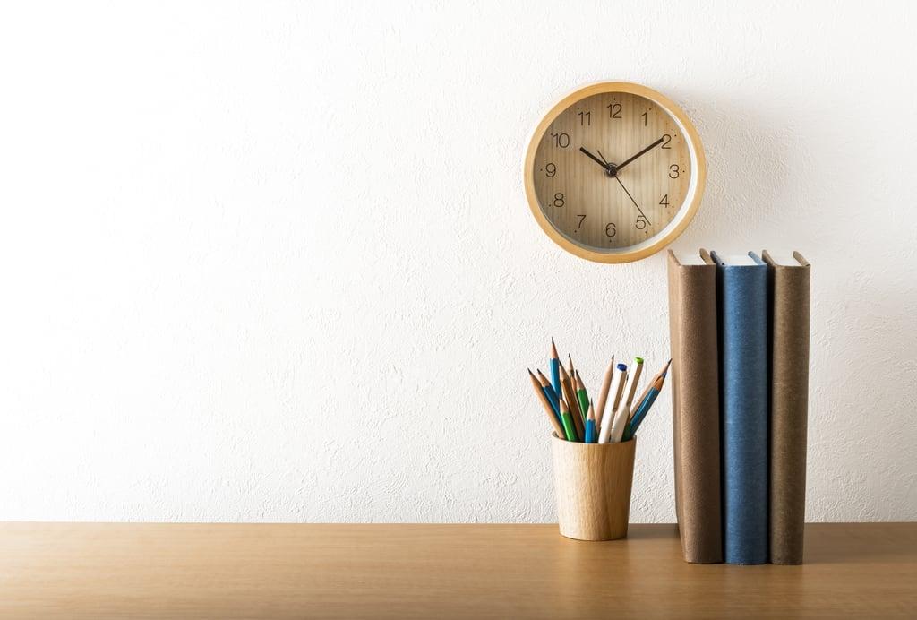 Create a clean work space.