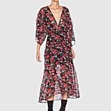 Talulah Jet Rose Midi Dress ($280)