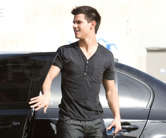 Slide Photo of Taylor Lautner Out For Lunch in LA