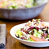 Radicchio, Jicama, Romaine, and Fennel Salad