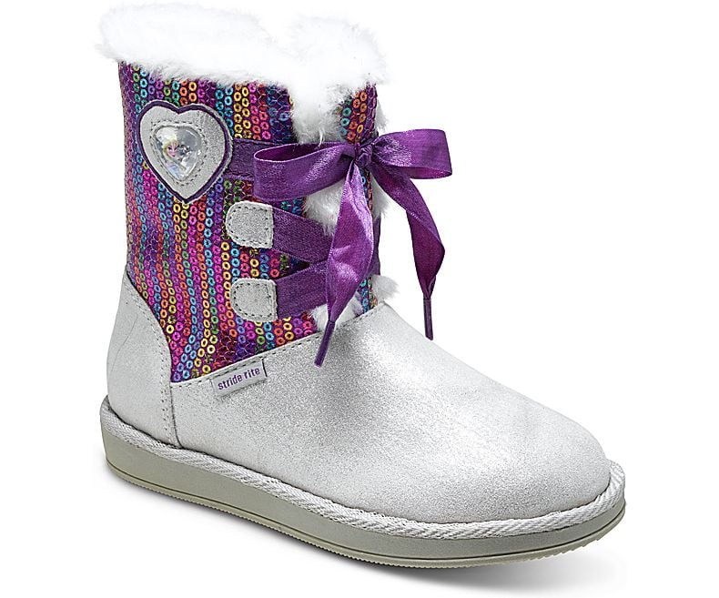 Stride Rite Disney Princess Frozen Cozy Boot