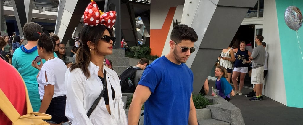 Priyanka Chopra Sneakers at Disney World August 2019