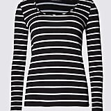 Limited Edition Long Sleeve Striped Top With Modal (£15)