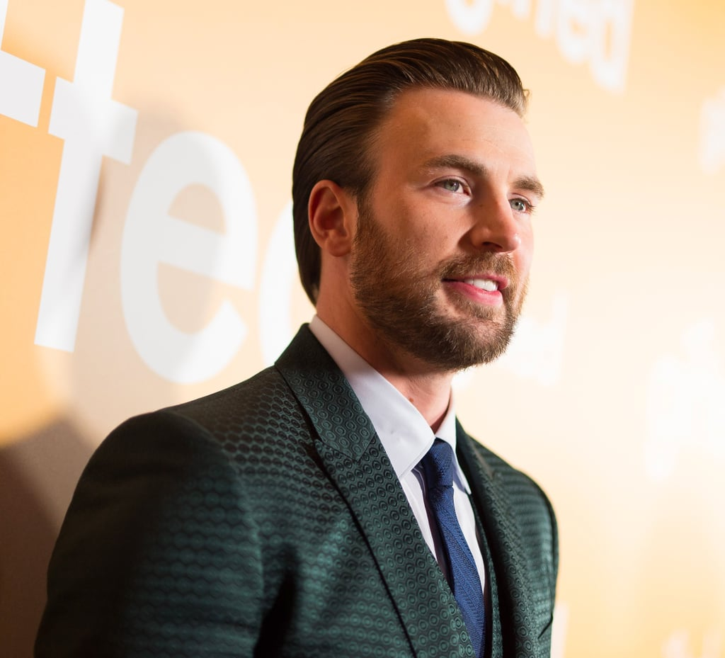 Dog Dad and Flawless Specimen Chris Evans Can't Wait to Be Reunited With His Pet
