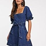 Finders Keepers Miami Denim Mini Dress