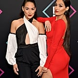Pictured: Brie and Nikki Bella