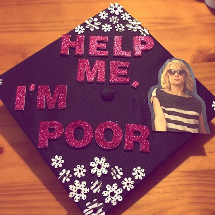 funny graduation cap ideas popsugar career and finance