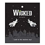 Wicked Flying Witch Earrings
