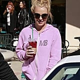 Britney Spears Wraps Up Her Workout With Starbucks and a Salon Stop