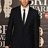 Calvin Harris suited up on the red carpet.
