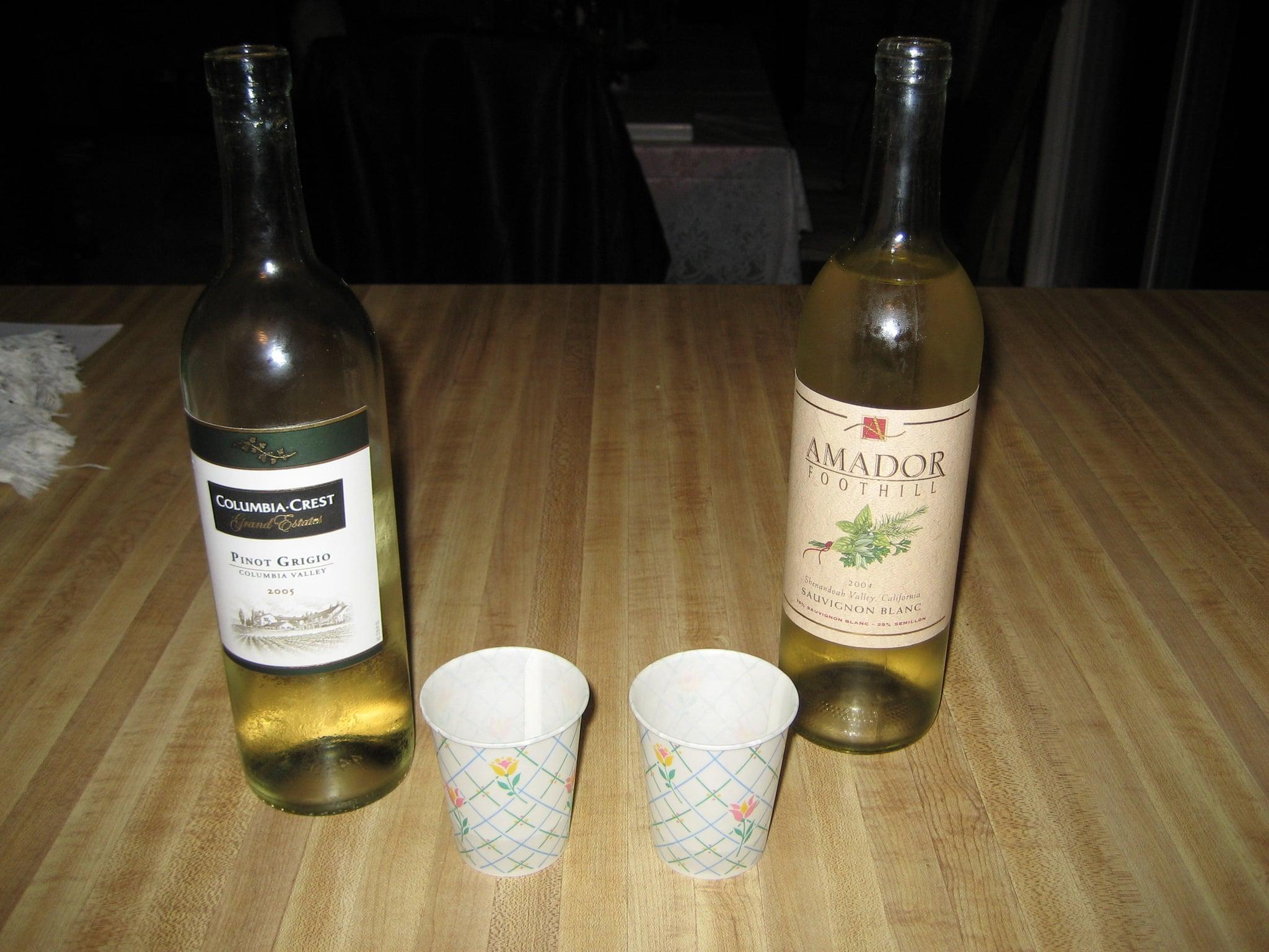 After It's Opened: Wine Taste Test