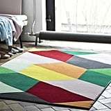 This joyful patterned rug — priced at $40 — is not for the faint of heart.