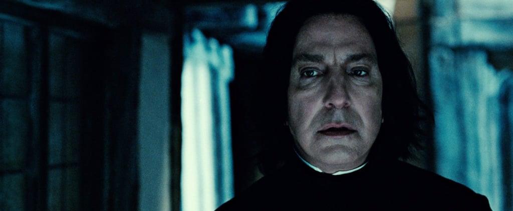J.K. Rowling Reveals the Secret She Told Alan Rickman
