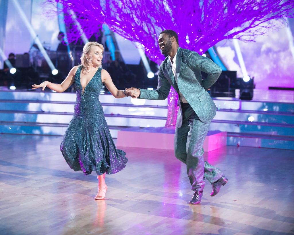 """Evanna Lynch brought a little bit of magic to Dancing With the Stars on Monday night. During the show's season 27 premiere, the former Harry Potter actress showed off her moves as she danced the foxtrot to """"Do You Believe in Magic"""" alongside her partner, Keo Motsepe. Pretty fitting, right? And the magical references didn't end there. The judges couldn't help but make reference to Lynch's onscreen alma mater, Hogwarts, as they critiqued her dance. While her performance didn't exactly """"charm"""" the judges — she earned an 18 out of 30 — she certainly won over the crowd. See her stunning performance above!"""