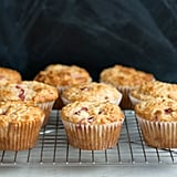 Low-Fat Raspberry Rhubarb Muffins