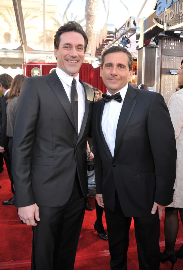 Jon Hamm and Steve Carell