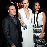 Johnny Galecki, Taylor Swift, and Olivia Munn