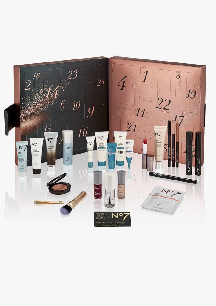 no7 best beauty advent calendars 2018 popsugar beauty. Black Bedroom Furniture Sets. Home Design Ideas