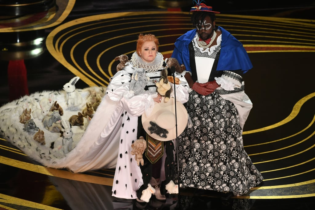 Melissa McCarthy and Brian Tyree Henry Present Best Costume, and DAMN, They Really Went For It