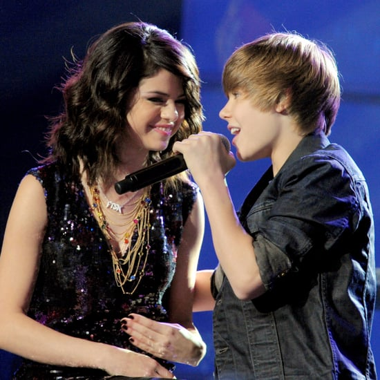Justin Bieber Serenading Selena Gomez on New Year's Eve 2009