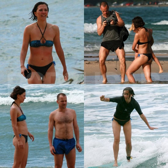 Pictures of Maggie Gyllenhaal in a Bikini With Peter Sarsgaard Shirtless in Hawaii With Ramona