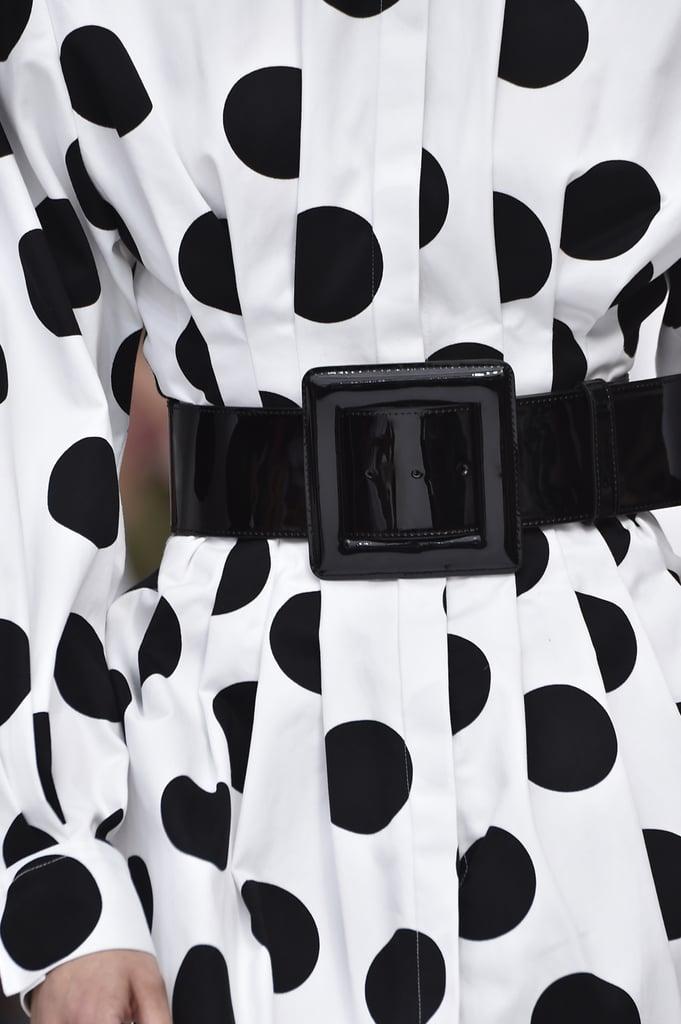 A Belt on the Carolina Herrera Runway at New York Fashion Week