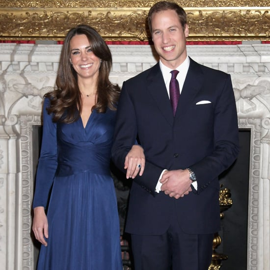 Kate Middleton Blue Issa Engagement Dress | Pictures