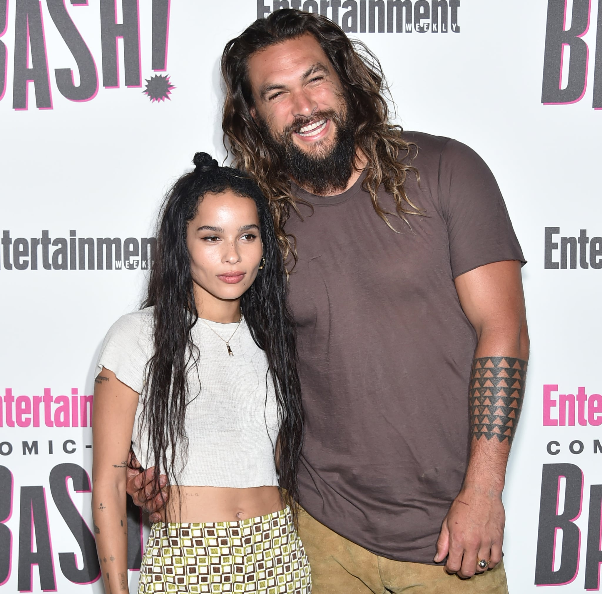 Jason Momoa Reacts To Zoe Kravitz S Catwoman Casting