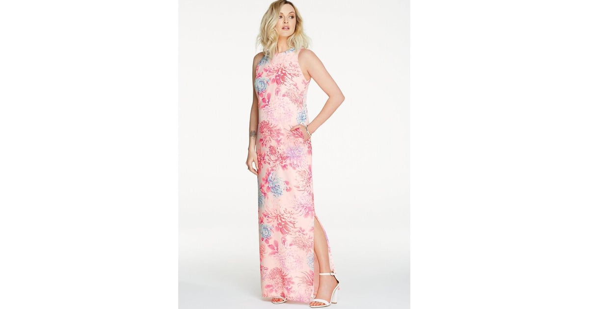 Fearne Cotton Printed Maxi Dress With Pockets