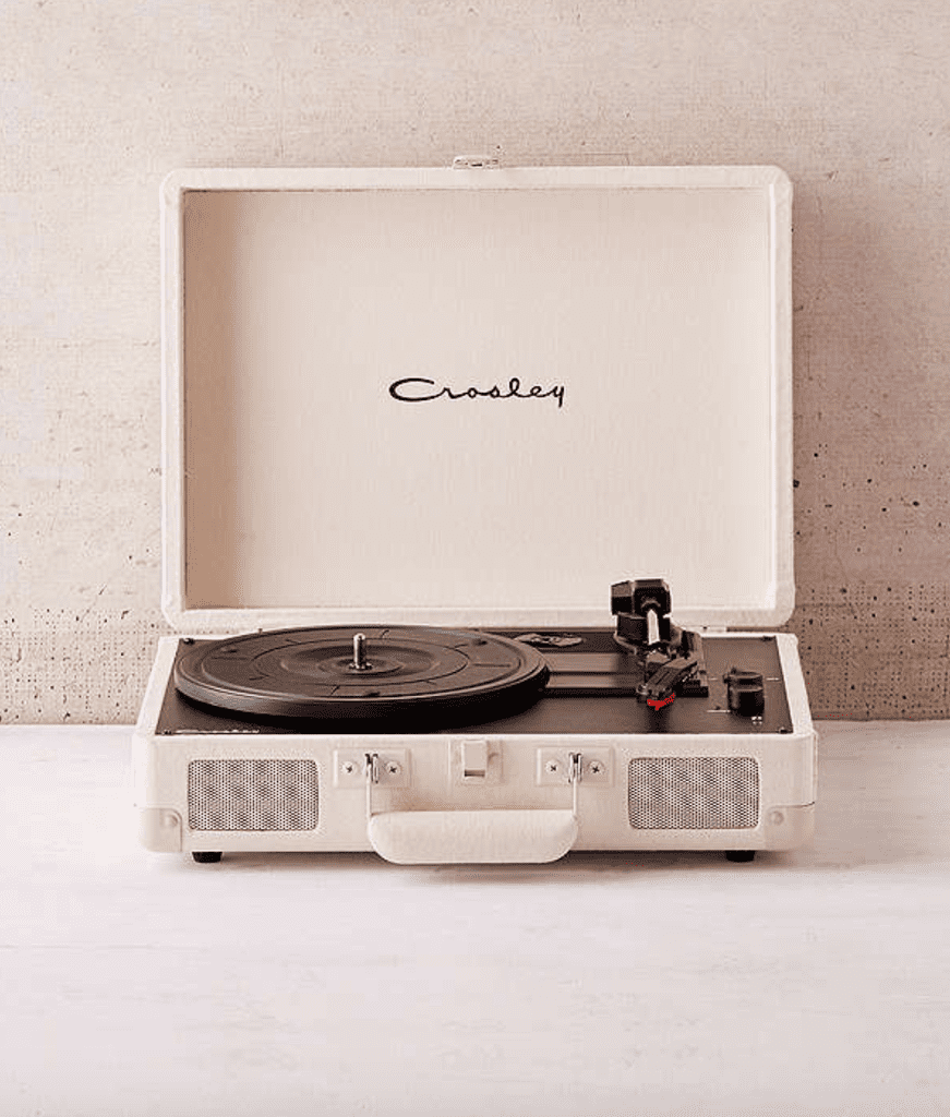 Crosley Cream Canvas Cruiser Bluetooth Record Player