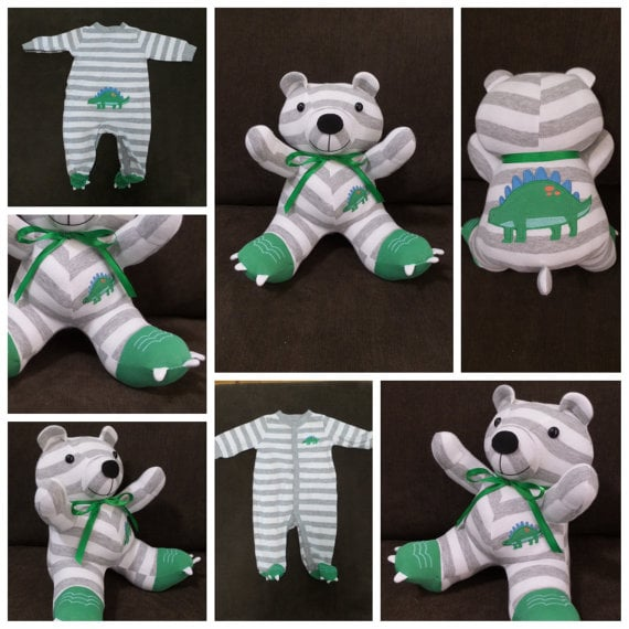 Custom Sleeper Teddy Bear ($35)