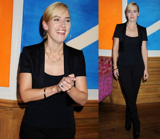 Kate Winslet at The Reader Private Screening