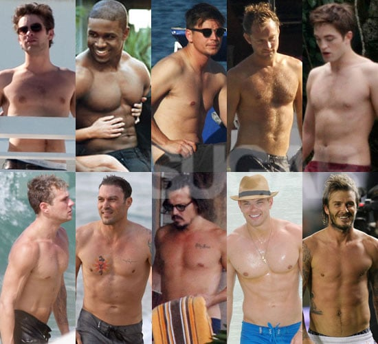 Hottest Shirtless Guys of 2010