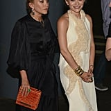 Mary-Kate Olsen and Ashley Olsen both wore The Row dresses to the Fresh Air Fund's Spring Gala in NYC.