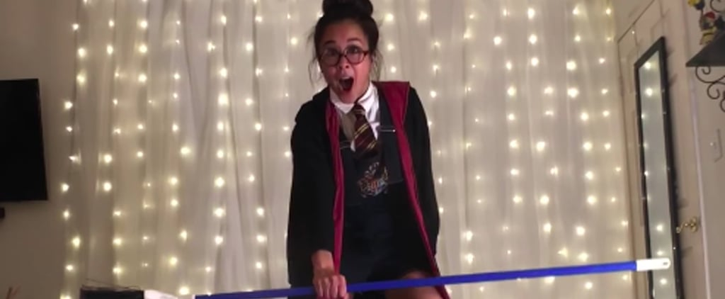Harry Potter Pole Dance Routine