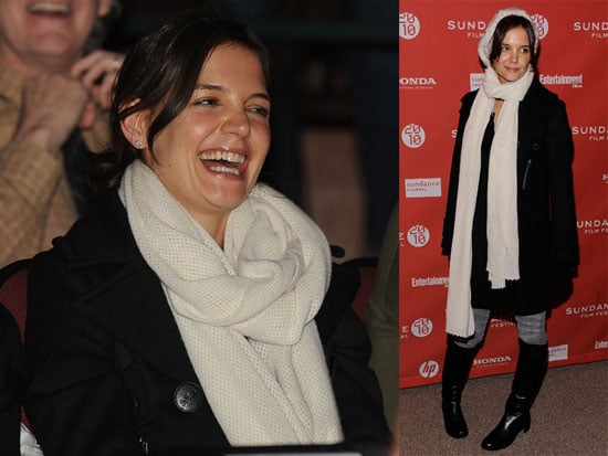 Photos of Katie Holmes At Sundance Premiere and Party for The Extra Man