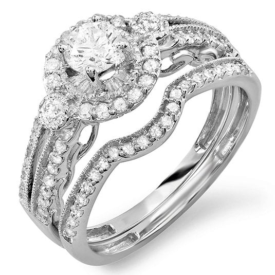 if youre looking for something kind of extravagant - Affordable Diamond Wedding Rings